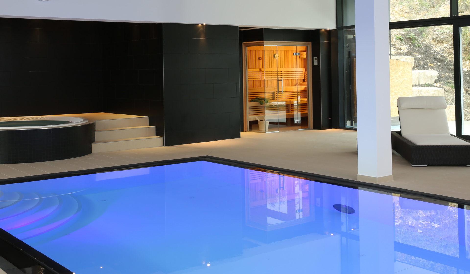 Pool RUKU Sauna Thermium Wellness RUKU Schweiz Offizielle Vertretung RR Variationen GmbH RRV