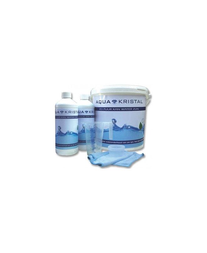 Aqua Kristal Wasserpflege