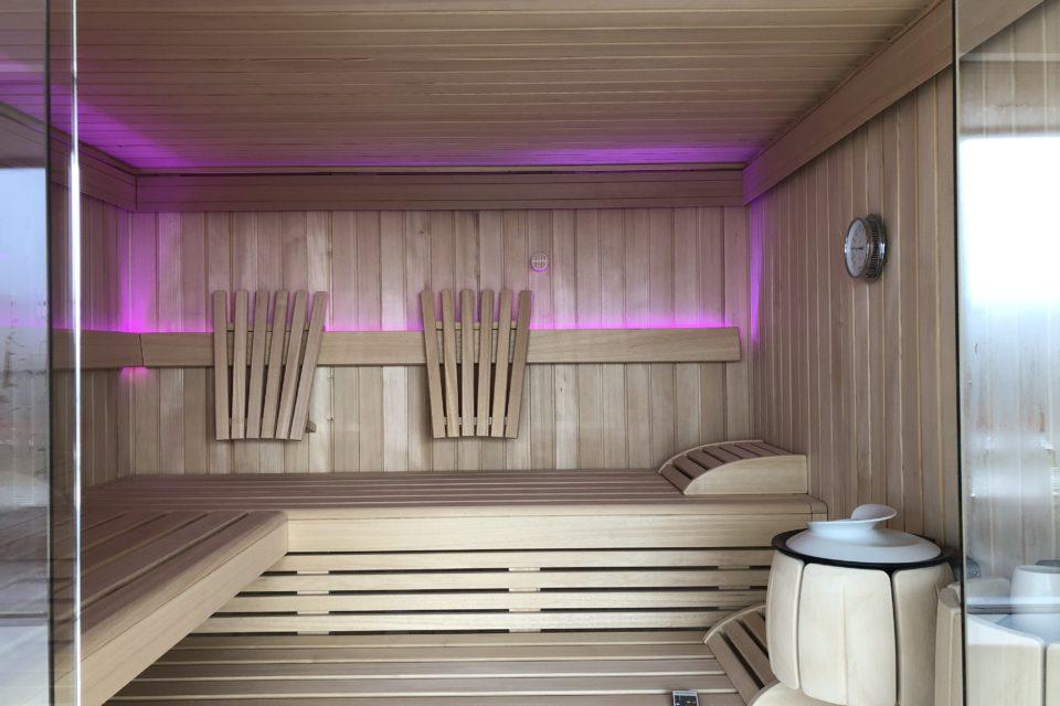 Ruku Thermium Sauna mit Dampfbad und Infrarot