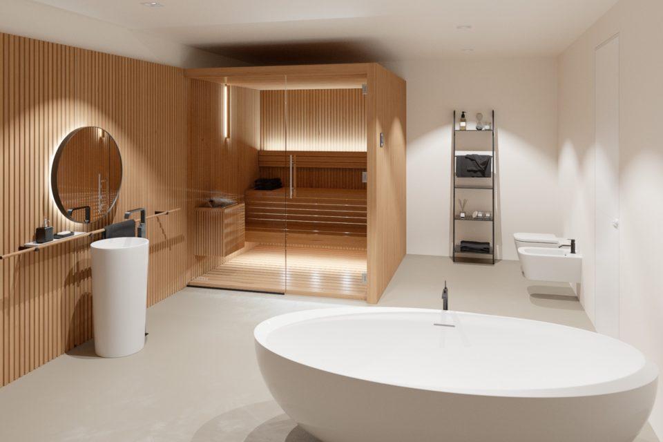 Libera Aurrom Sauna RRV Modern