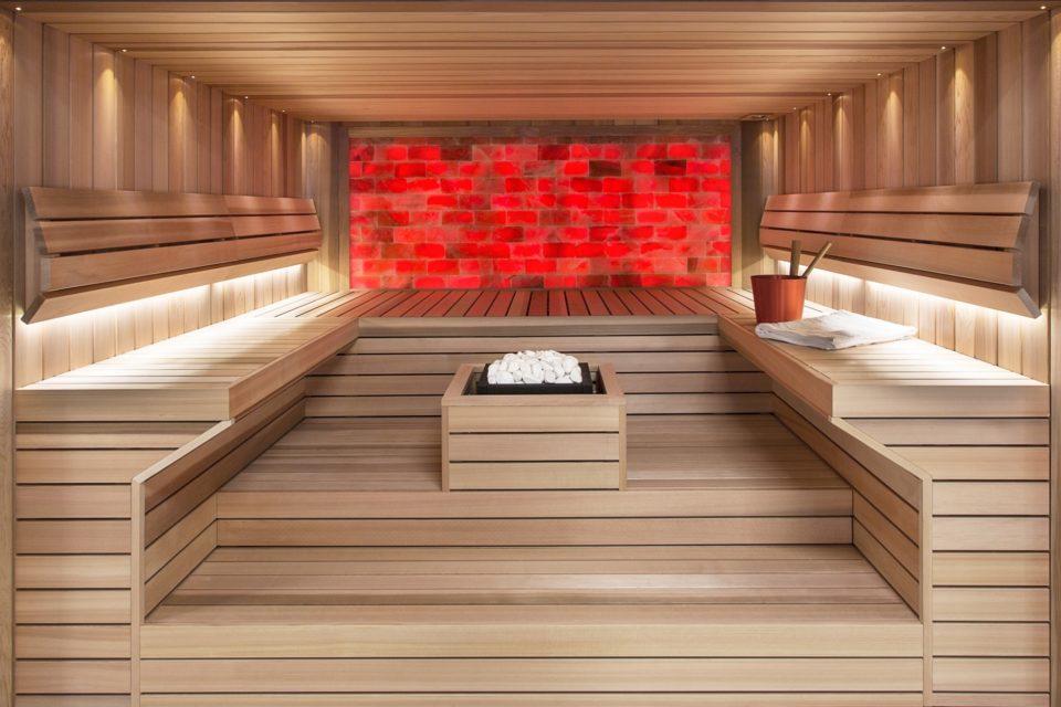 Sauna nach Mass von Auroom RRV