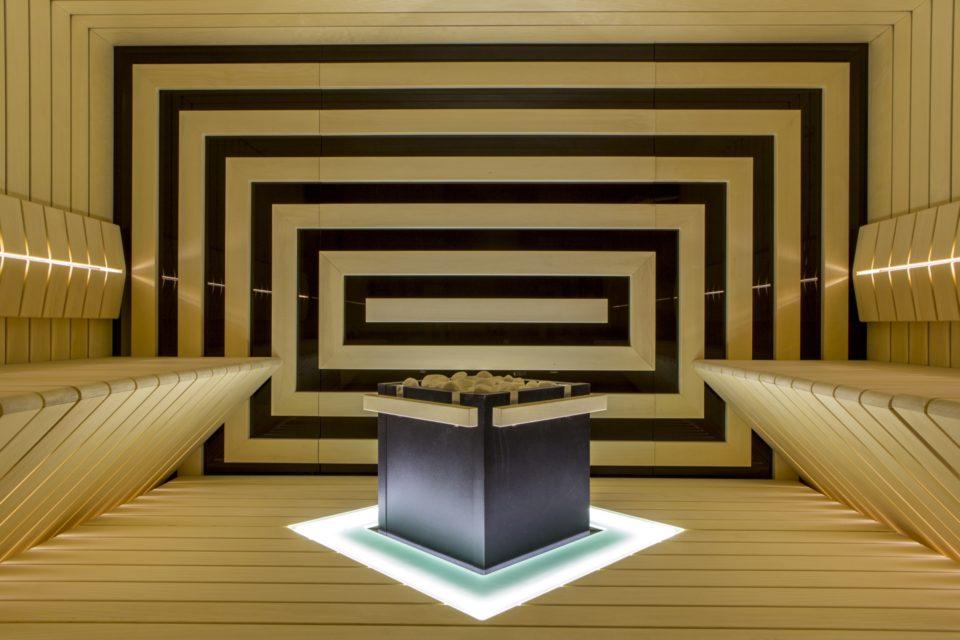 Sauna nach Mass von RRV Auroom