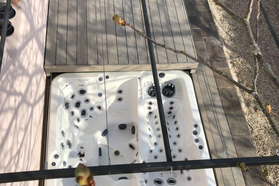 Abdeckung Whirlpool Rolldeck einbau RRV