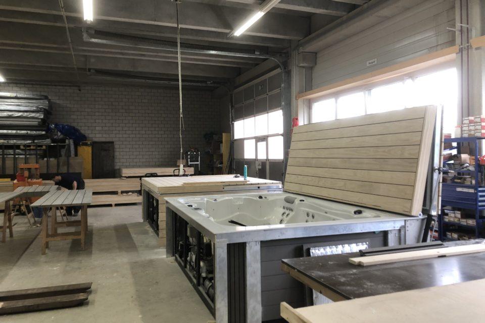 Produktion Abdeckung Erlen Schweiz